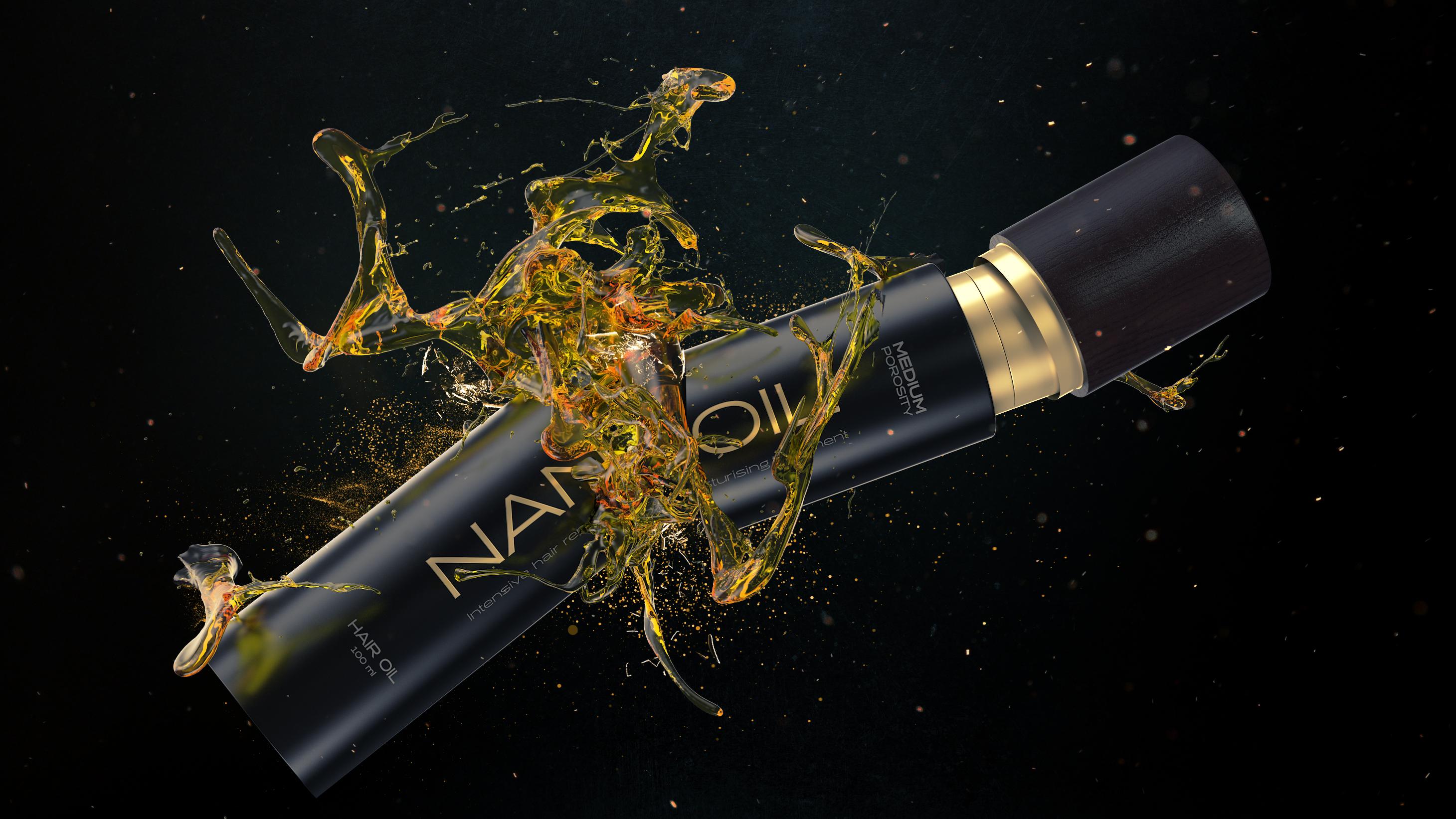 Nanoil. El poder concentrado de los aceites capilares naturales ... 199a058e3a04